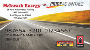 Pacific Pride Advantage Fleet Card