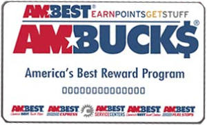 AMBEST Rewards. AmBucks Cards accepted at McIntosh Energy