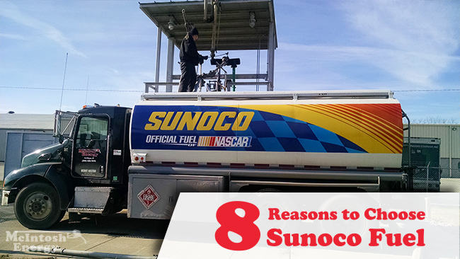 Fuel with Sunoco for company and personal vehicles.