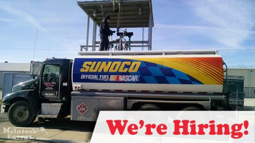 We're Hiring Tank Wagon Drivers